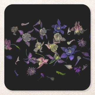 Flower Magic Square Coasters