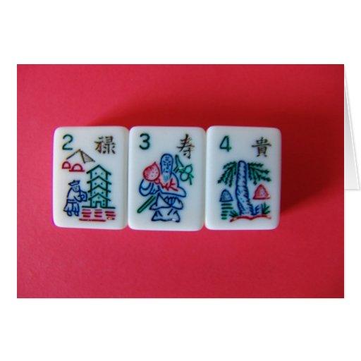 Flower Mah-Jongg Cards
