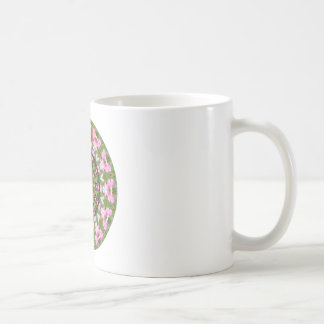 Flower Mandala, Bleeding Hearts 02.0_rd Coffee Mug