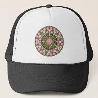 Flower Mandala, Bleeding Hearts 02.0_rd Trucker Hat
