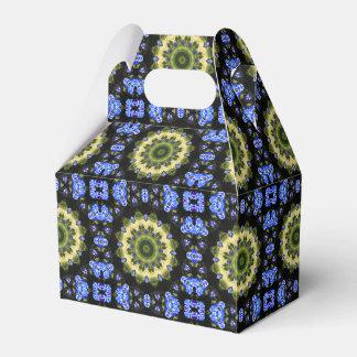 Flower Mandala, Forget-me-nots Favor Box