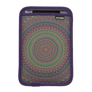 Flower mandala iPad mini sleeve