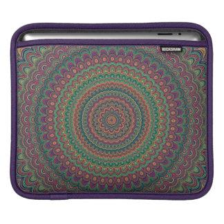 Flower mandala iPad sleeve