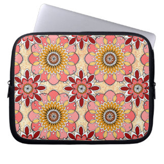 Flower Mandala Laptop Sleeve