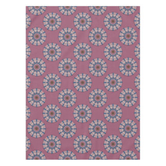 Flower Mandala, pink spring blossoms Tablecloth