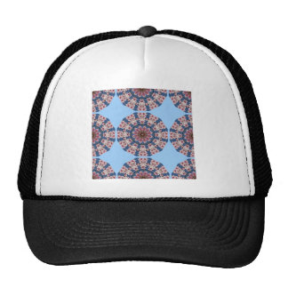 Flower Mandala, pink spring blossoms Trucker Hat