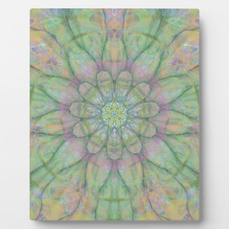 Flower mandala plaque