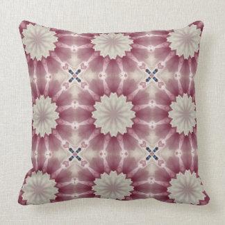 Flower Mandala, springtime glory Throw Pillow