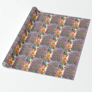 Flower Mandala Wrapping Paper