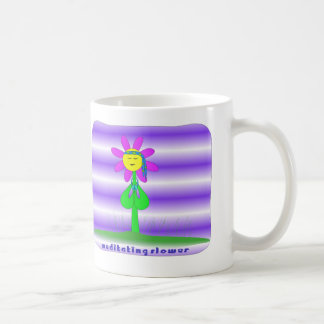 Flower Meditating Mug - Customized
