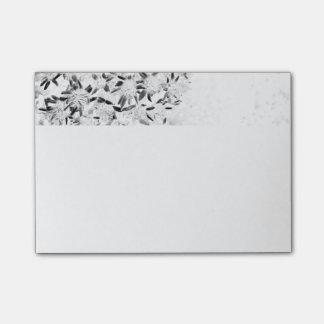 flower monochrome post-it® notes