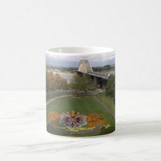 Flower mosaic, Nijmegen Coffee Mug