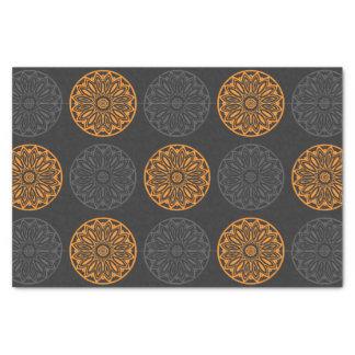 flower motif tissue paper