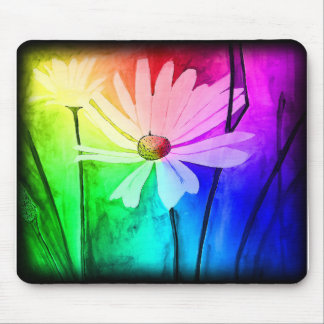 Flower Mouse Pad (Change Color in Customize!)
