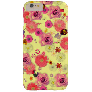 Flower Multitude On Yellow Barely There iPhone 6 Plus Case