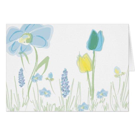 Flower Notecard number three