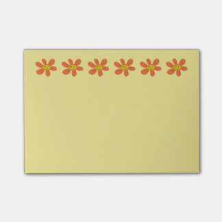 Flower Notepad