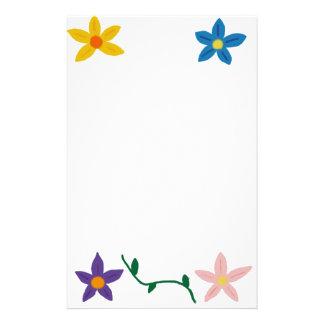 Flower Notepad Stationery