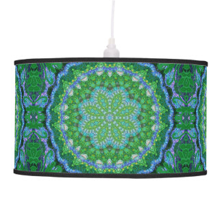 Flower o' the Forest Mandala lamp