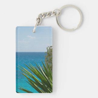 Flower Ocean Keychain