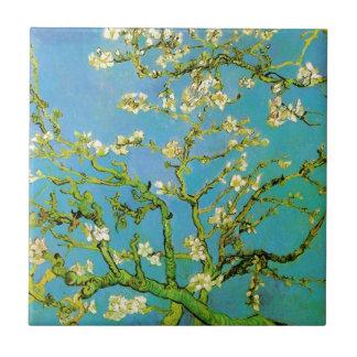 Flower of Almond tree Tile