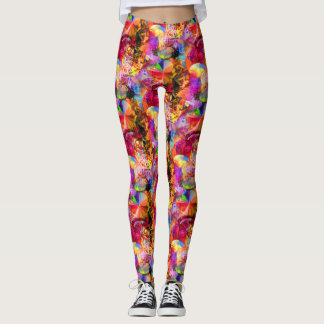 Flower of Life 10 Leggings
