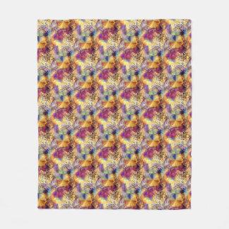 Flower of Life 9 Fleece Blanket