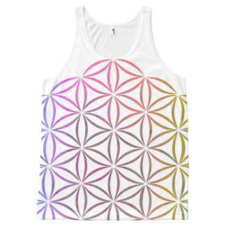 Flower of Life All-Over-Print Tank Top