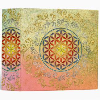 Flower of Life / Blume des Lebens - Ornament IV BG Vinyl Binders