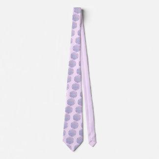 Flower of Life / Blume des Lebens - stamp violet Tie