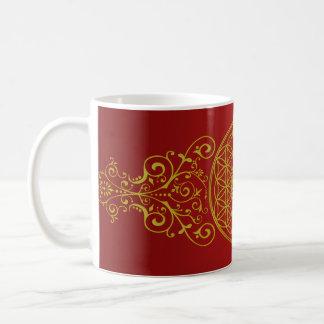 Flower of Life / Blume des Lebens - vintage XI Coffee Mug