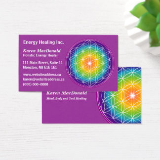 Flower of Life Business Card