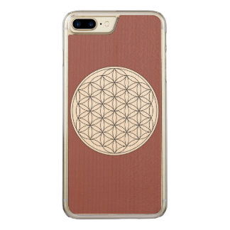 Flower of Life Carved iPhone 7 Plus Case