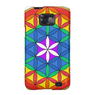 Flower of Life Chakra7 Galaxy S2 Cover