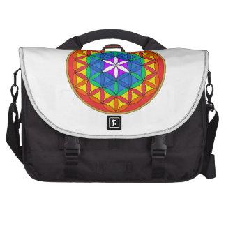 Flower of Life Chakra7 Laptop Computer Bag