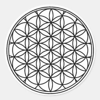 Flower of Life Classic Round Sticker