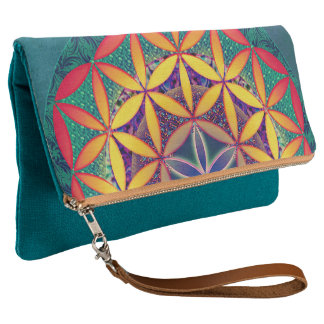 Flower of Life Clutch