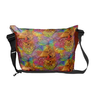 Flower of Life Courier Bag