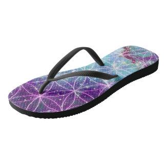 Flower of Life Flip Flops