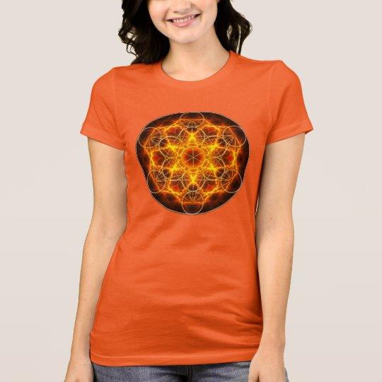 Flower of Life Fractal - Metatron's Cube T-Shirt