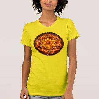 Flower of Life Fractal - Metatron's Cube Tshirt