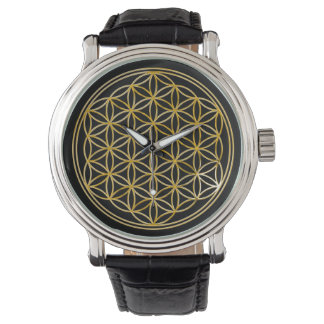 Flower of Life - gold Watch
