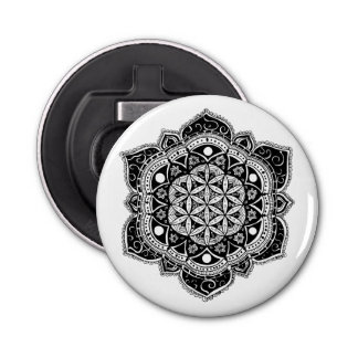 Flower of life II Bottle Opener
