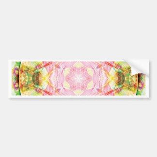 Flower of Life Mandala 17 Cards Bumper Sticker