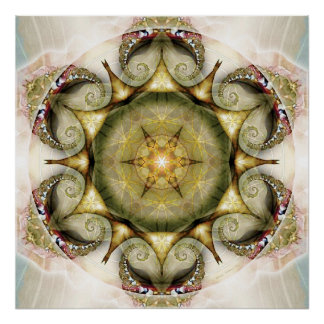 Flower of Life Mandala 19 Poster