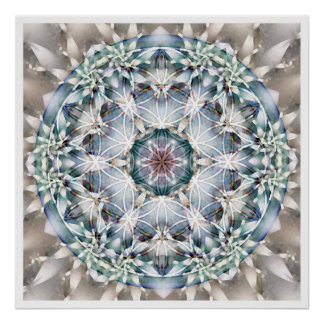 Flower of Life Mandala 1 Poster