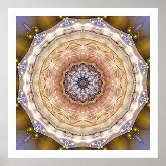 Flower of Life Mandala 4 Poster