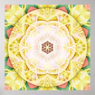 Flower of Life Mandala 7 Poster