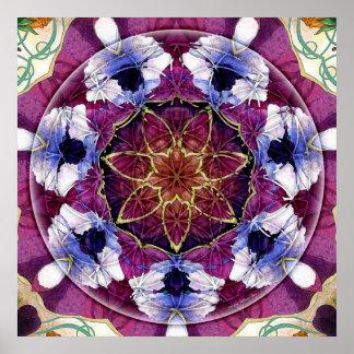 Flower of Life Mandala 8 Poster