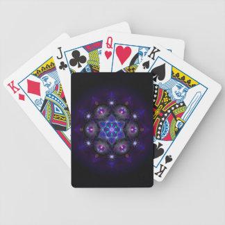 Flower Of Life Mandala Bicycle Playing Cards